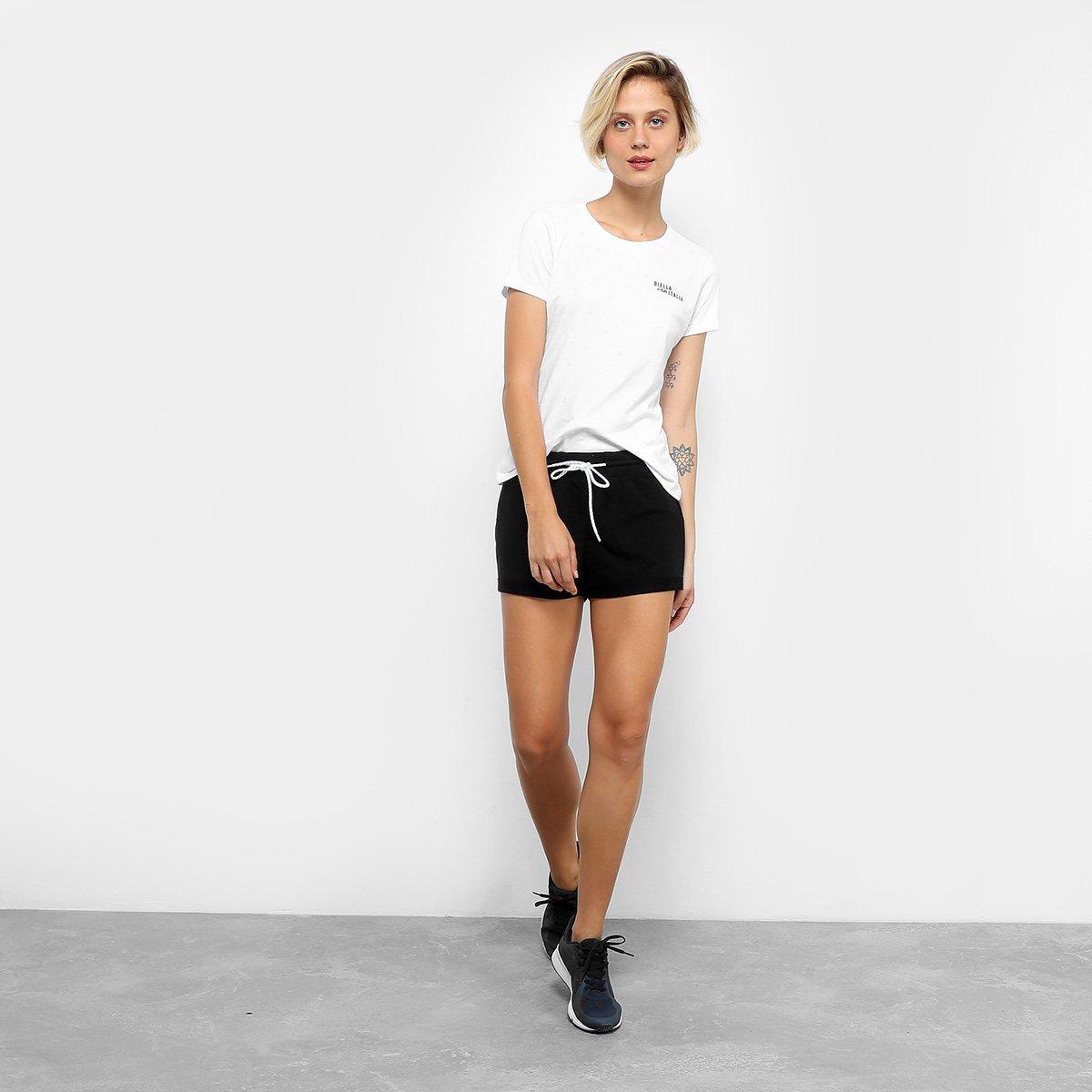 Camiseta Cult Camiseta Feminina Fila Branco Fila 5B46qg6