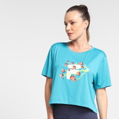 Camiseta Fila Flower Feminina