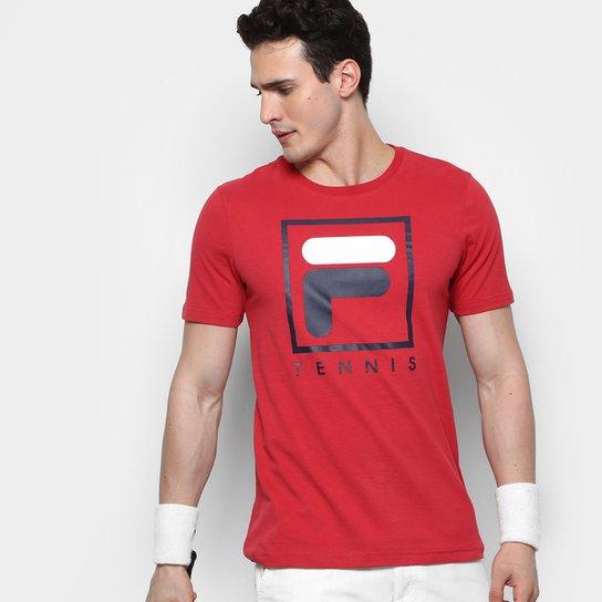 Camiseta Fila Soft Urban Masculina - Vermelho