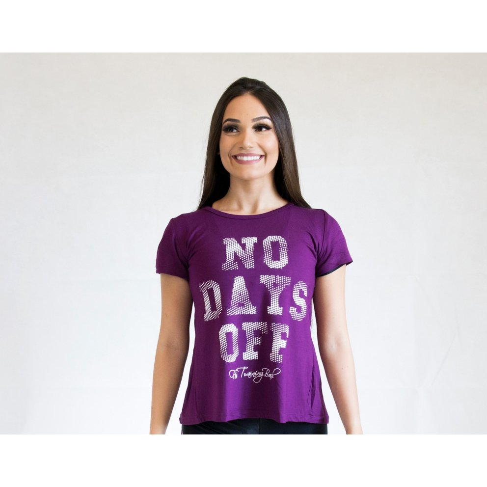 Day Camiseta Training Fit Fit Power Brasil Camiseta Violeta Feminina rxqBrY