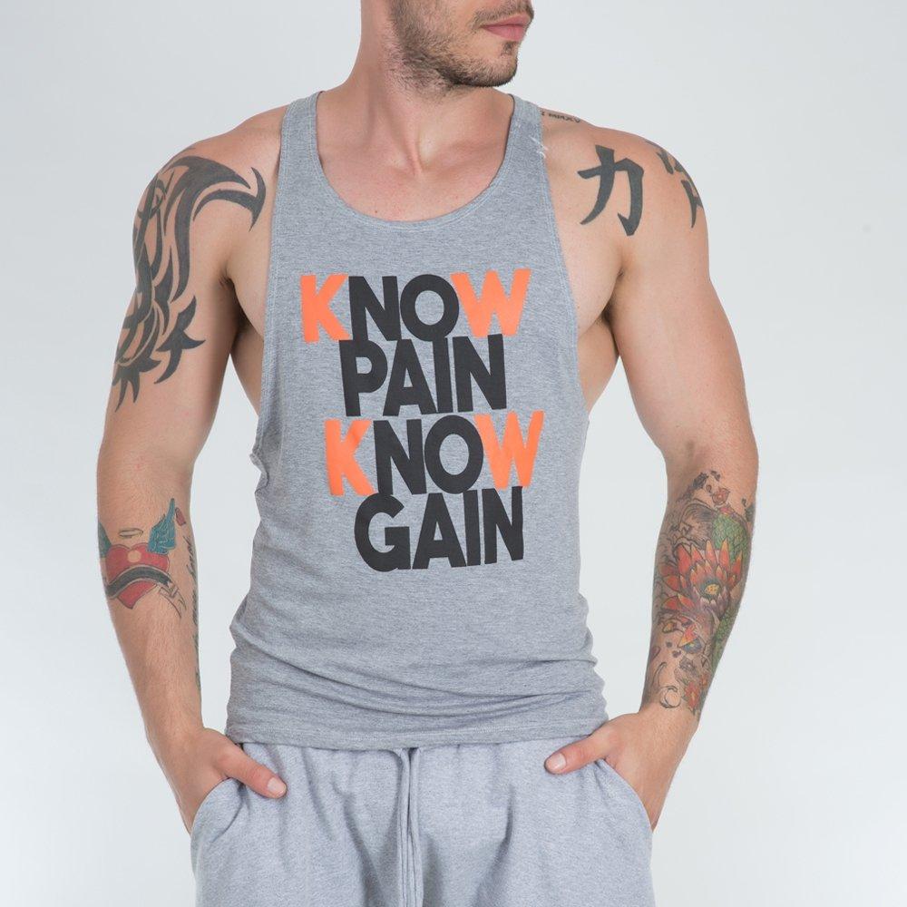 Camiseta Fitness Super Cavada Know Pain MO075 - Compre Agora  fe599765c79