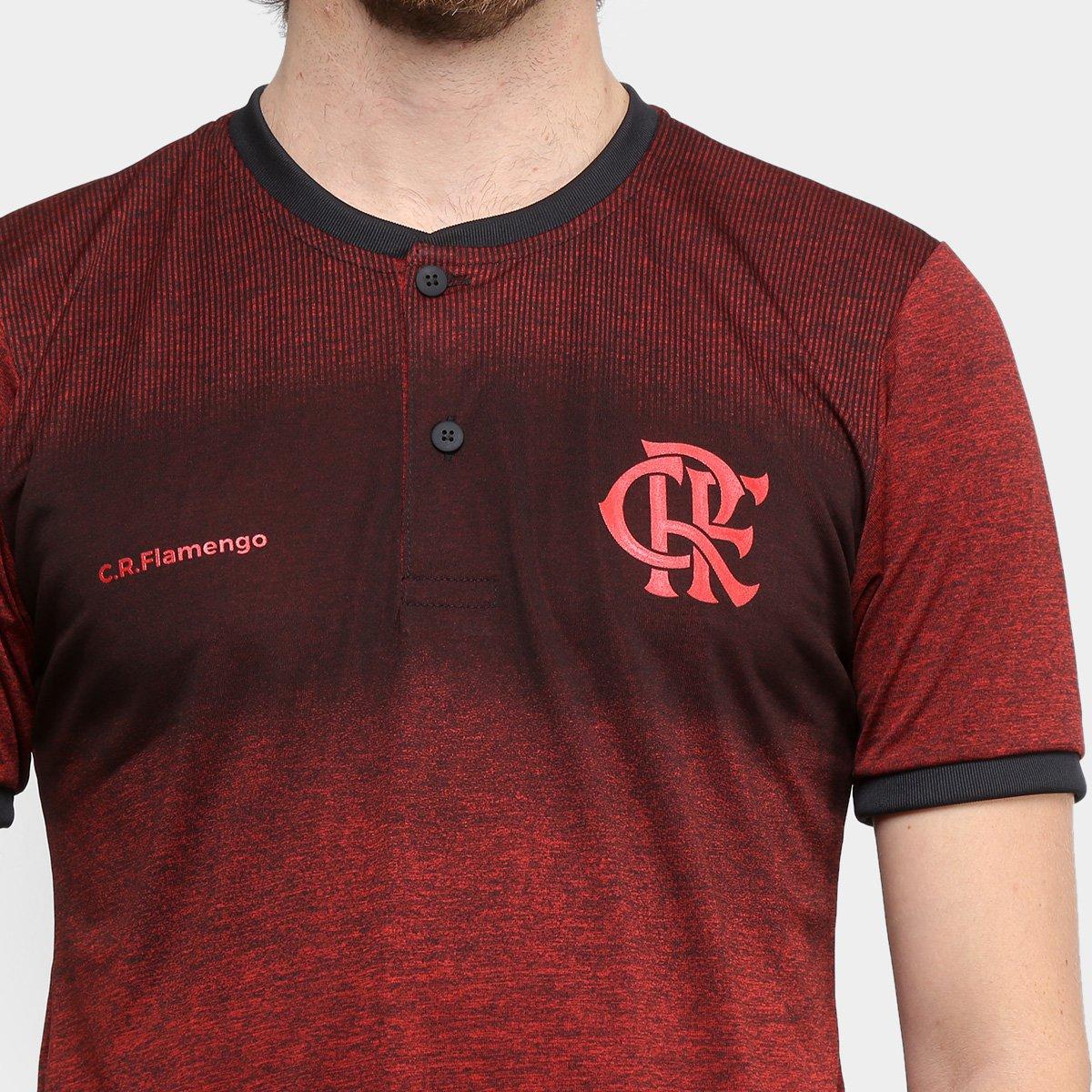 Camiseta Flamengo Gang Masculina - Cinza e Vermelho - Compre Agora ... 75e5e991fed78