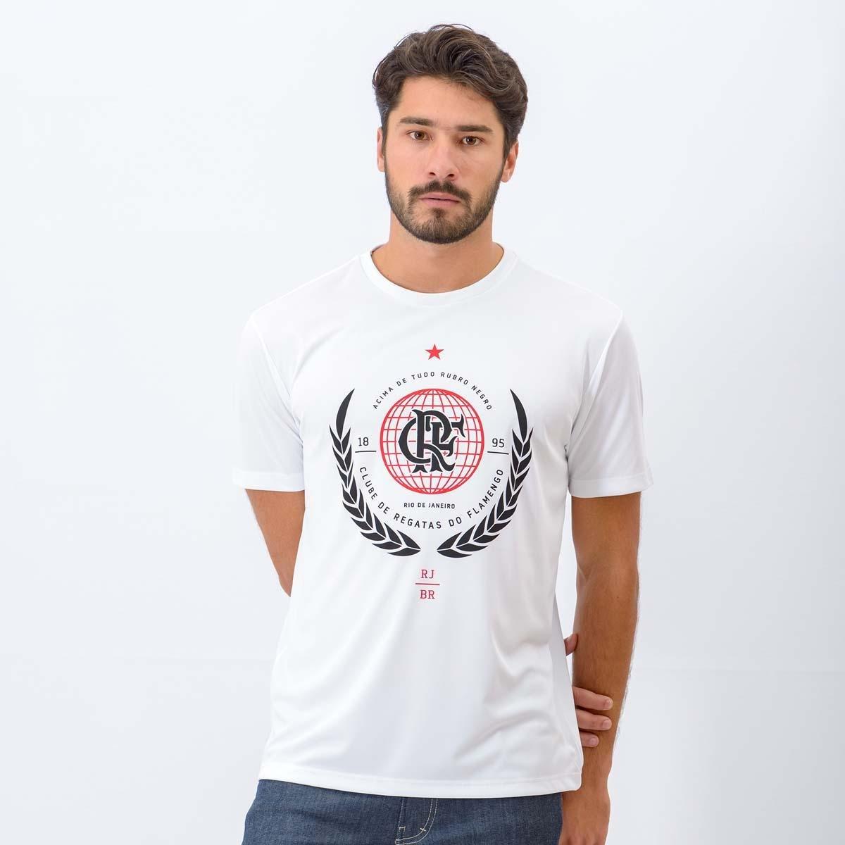 Camiseta Flamengo Globo Braziline Masculina - Compre Agora  02ee70c123124