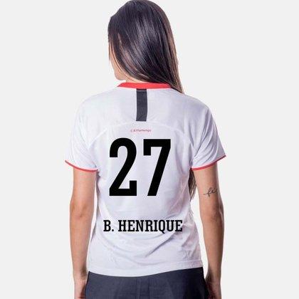 Camiseta Flamengo Insight Feminina 27 B.Henrique