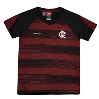 Camiseta Flamengo Motion Infantil