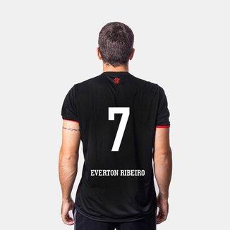 Camiseta Flamengo Part 7 Everton Ribeiro