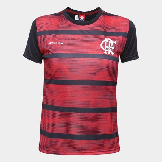 Camiseta Flamengo Proud Feminina - Preto