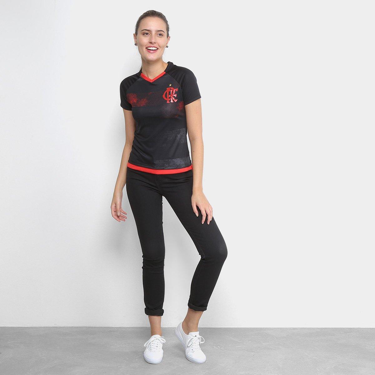 4e58ad18e8 Camiseta Flamengo Rally Feminina - Compre Agora
