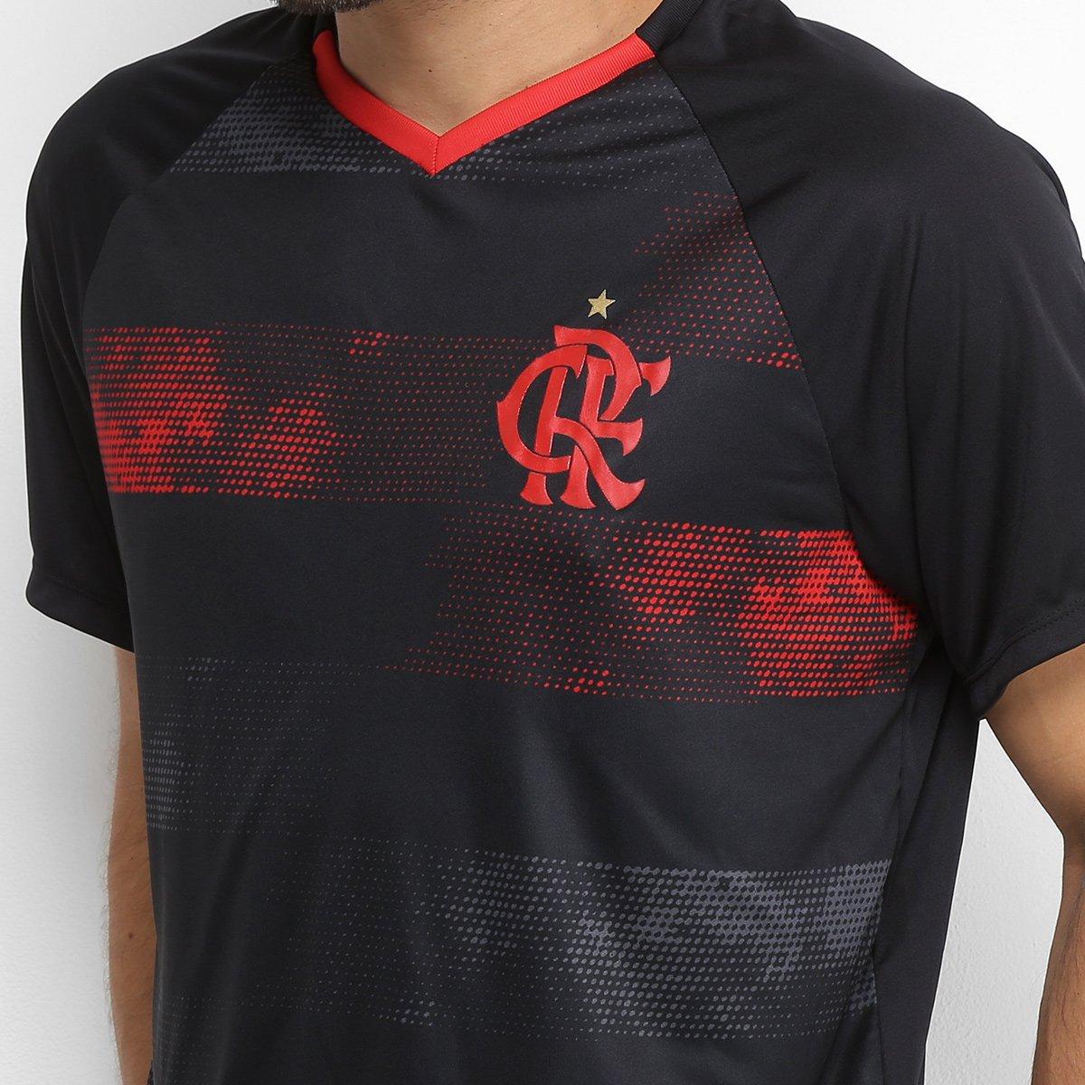 3182469b8f Camiseta Flamengo Rally Masculina - Preto e Vermelho - Compre Agora ...