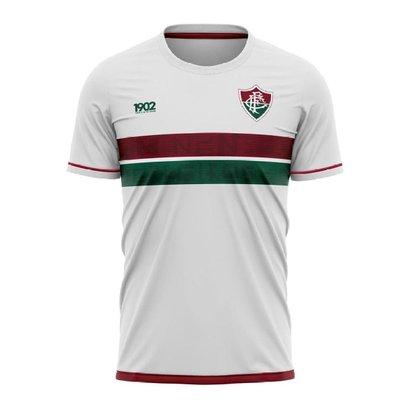 Camiseta Fluminense Approval Braziline Infantil - Branca