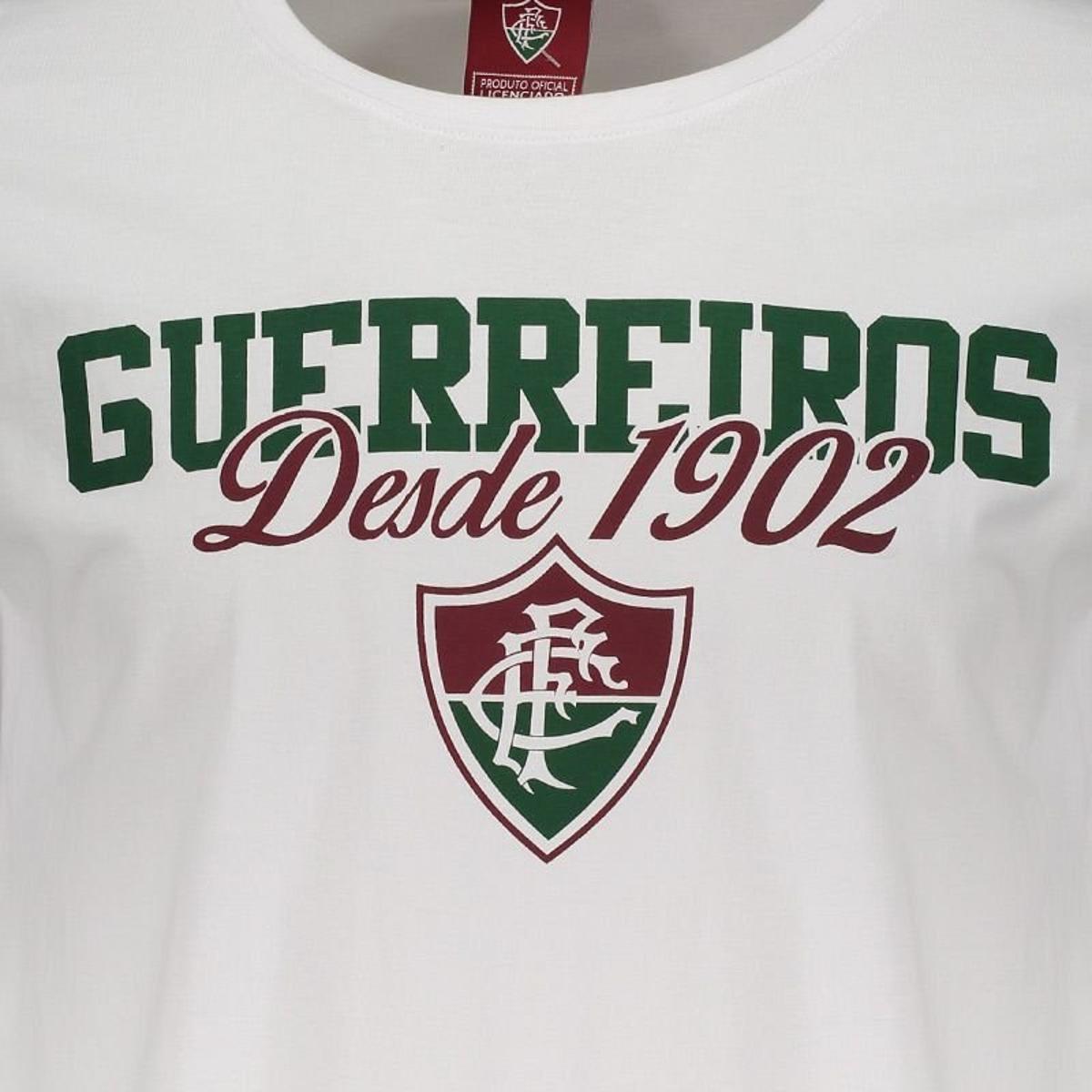 Camiseta Fluminense Guerreiros Masculina - Branco - Compre Agora ... bddbdea022946