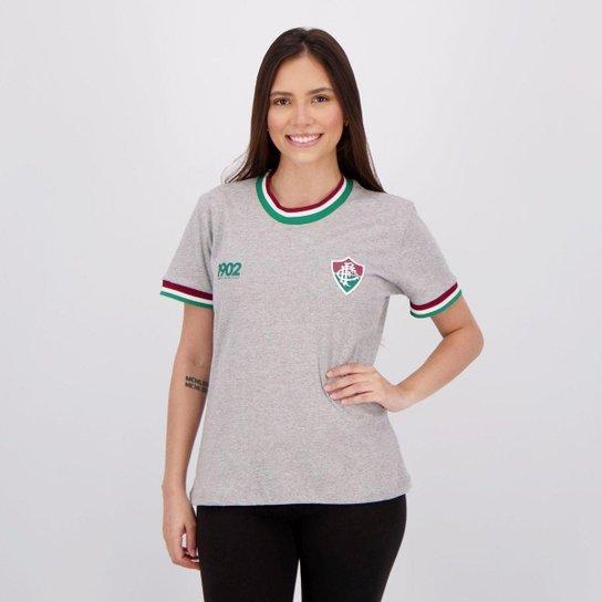 Camiseta Fluminense Triumph Feminina - Cinza