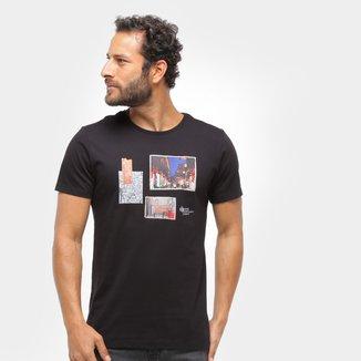 Camiseta Forum Básica Multi Estampas Masculina