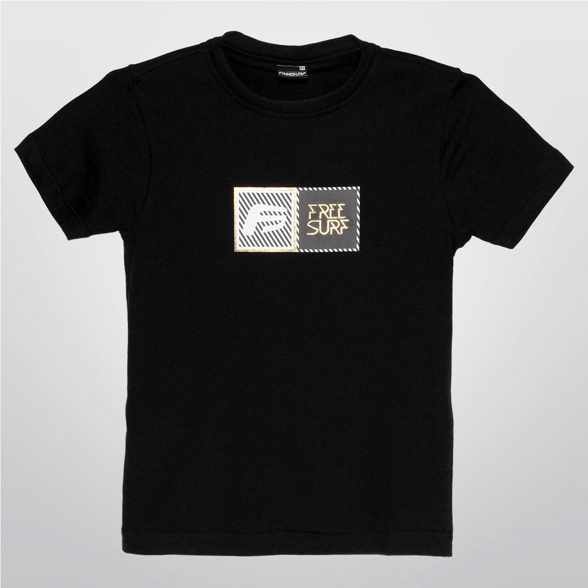 415023666574d Camiseta Free Surf Ship Infantil - Compre Agora   Netshoes