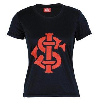 Camiseta Futebol Feminina Baby Look Internacional Torcedor