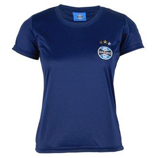 Camiseta Futebol Grêmio Baby Look Feminina Torcedora