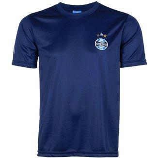 Camiseta Futebol Grêmio Masculina Torcedor Manga Curta