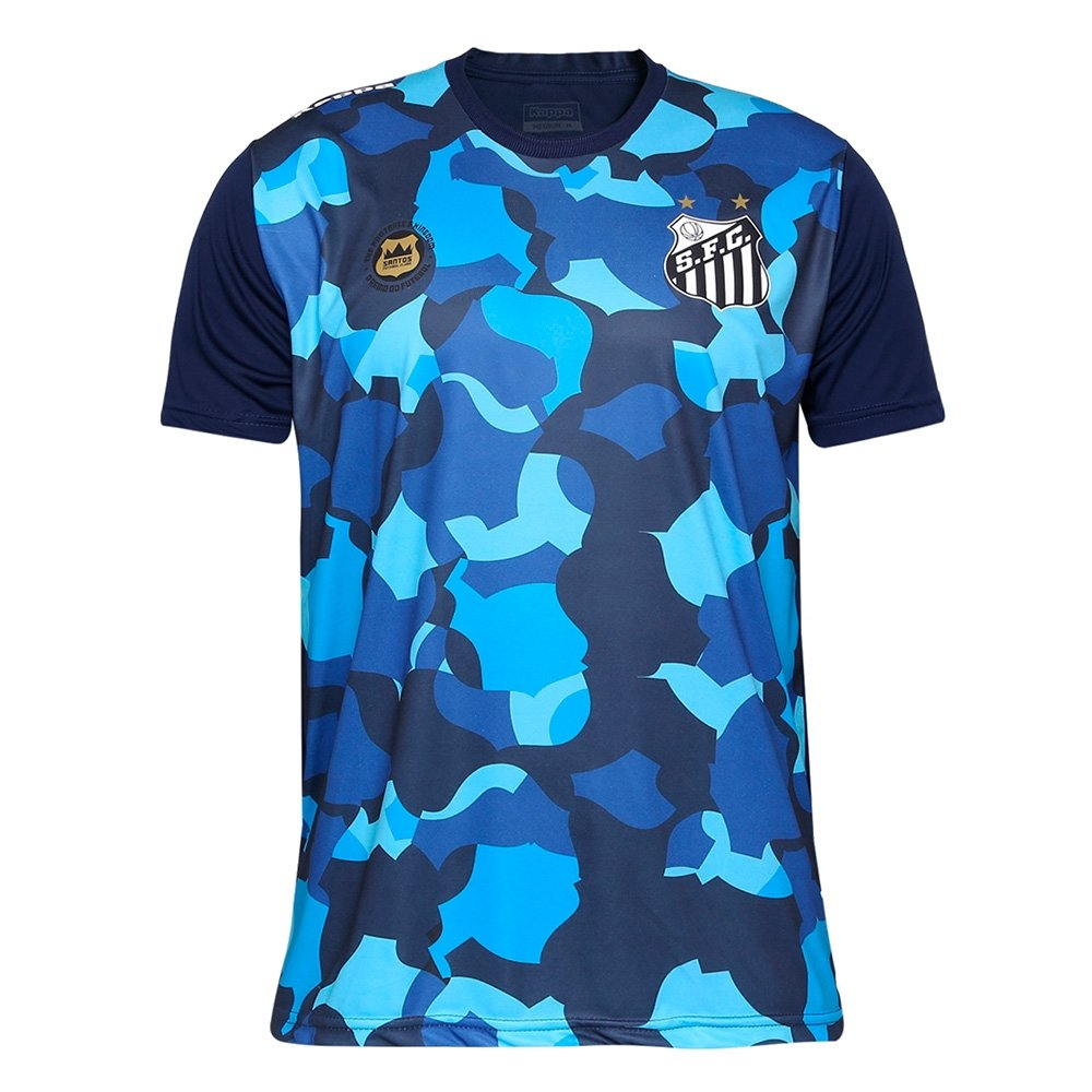 1776a6c5e0 Camiseta Futebol Kappa Santos Belmiro 2017 - Compre Agora