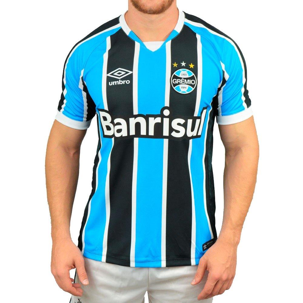 Camiseta Futebol Umbro Grêmio I 2016 - Compre Agora  94eb6412956f7