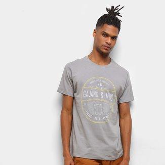 Camiseta Gajang Logo E Mind Masculina