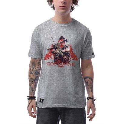 Camiseta God Of War Attack Masculina - Masculino