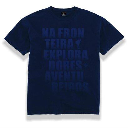 Camiseta Gola Careca Tempestade – Na Fronteira