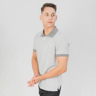Camiseta Gola Polo MC Ogochi Casual Slim Malha  Masculina
