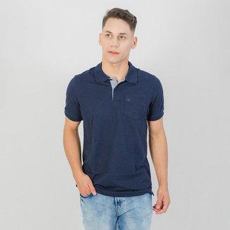 Camiseta Gola Polo MC Ogochi Essencial Slim Marinho