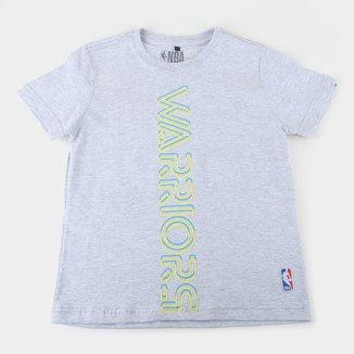 Camiseta Golden State Warriors Juvenil NBA Masculina