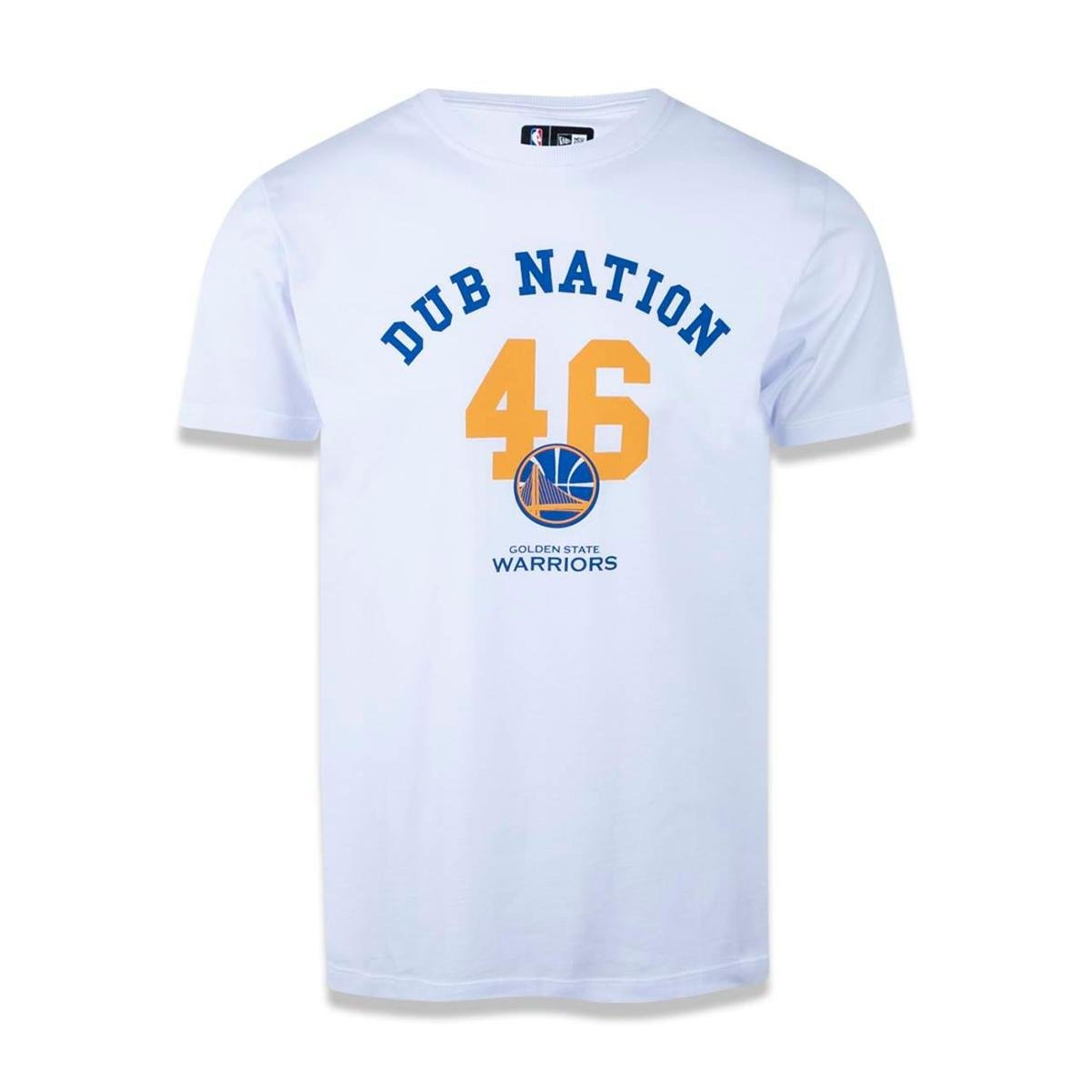 6667eb6e7 Camiseta Golden State Warriors NBA New Era Masculina - Branco - Compre  Agora