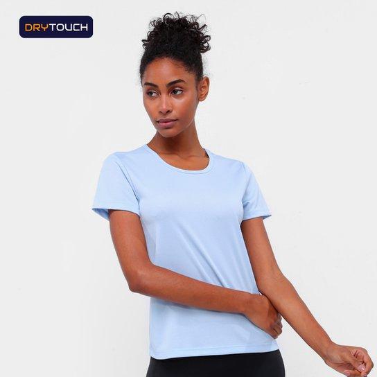 Camiseta Gonew Básica Fast Feminina - Azul