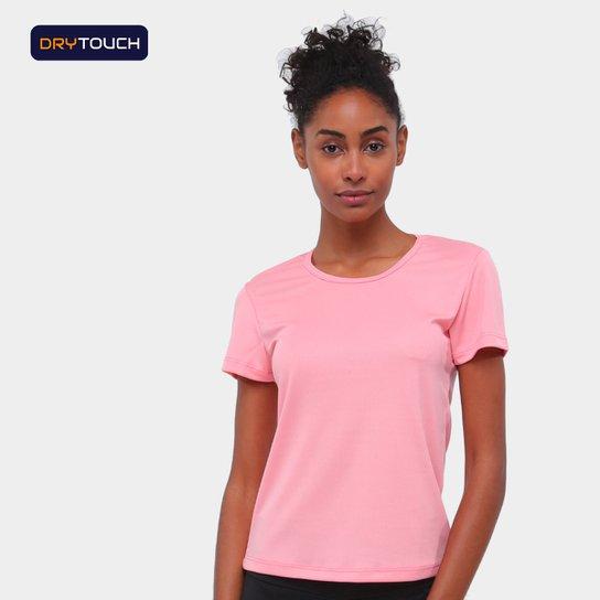 Camiseta Gonew Básica Fast Feminina - Coral