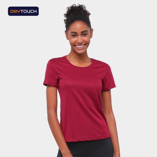 Camiseta Gonew Básica Fast Feminina - Vinho