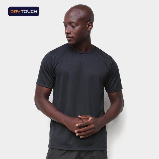 Camiseta Gonew Básica Fast Masculina - Preto