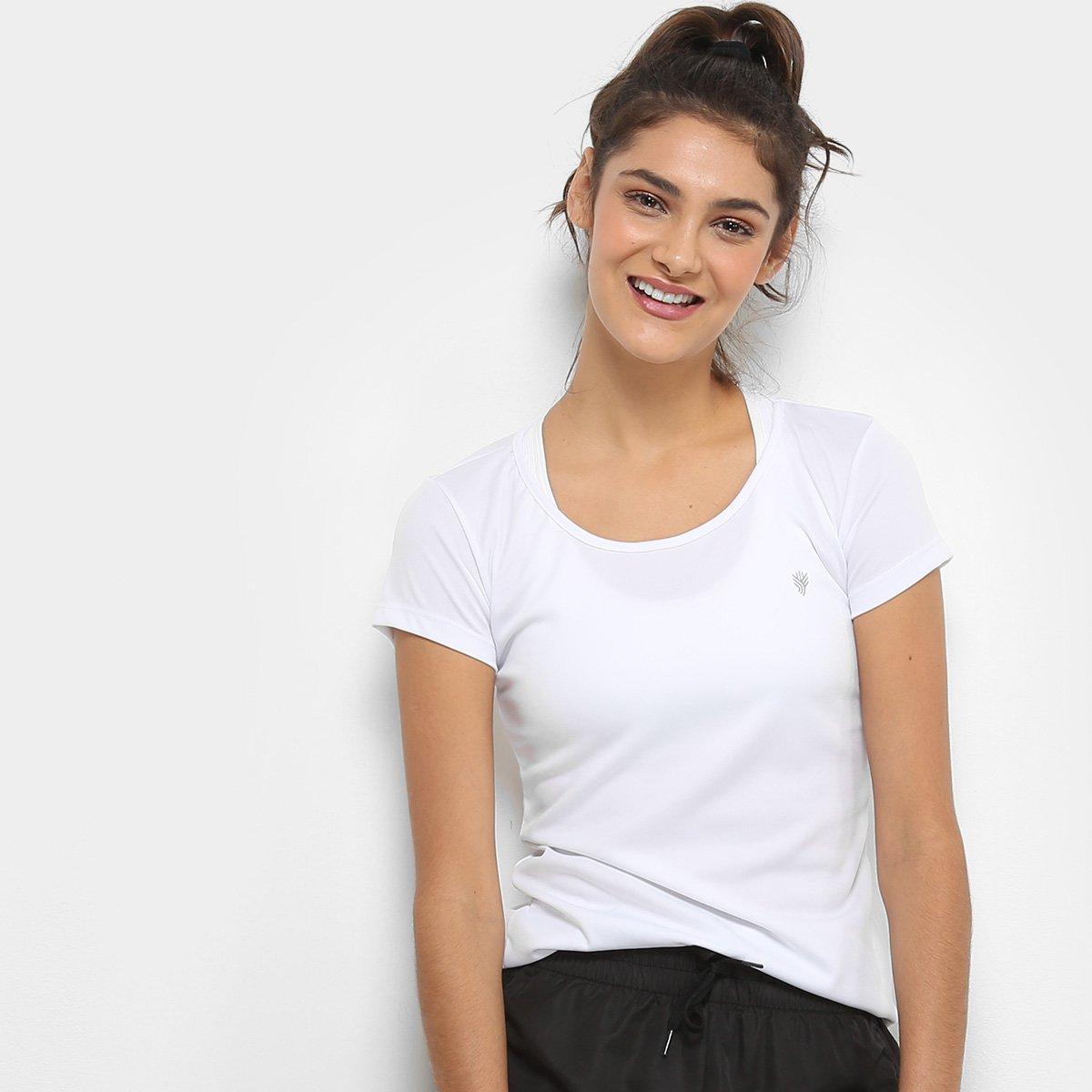 Feminina Camiseta Básica Gonew Gonew Camiseta Branco Básica Feminina Branco wzP0gq0