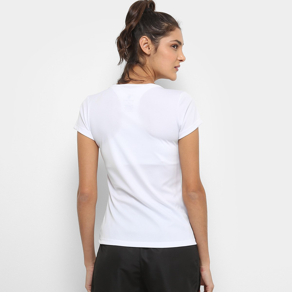 Camiseta Camiseta Branco Gonew Gonew Básica Básica Feminina dwzqzpT