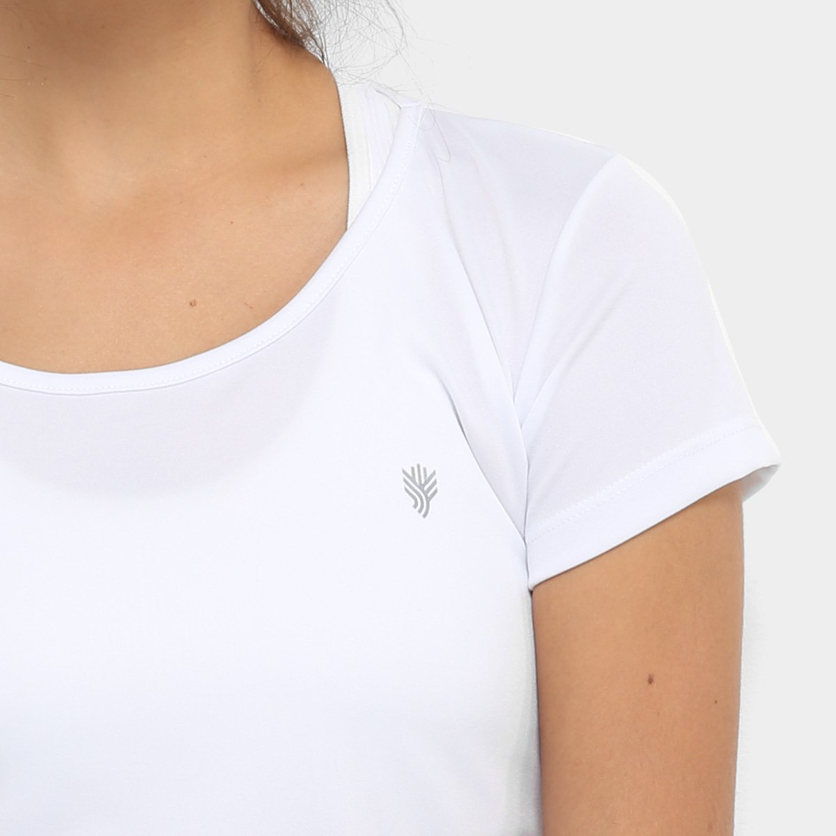 Feminina Camiseta Gonew Branco Básica Básica Feminina Branco Camiseta Gonew v4fxWwf0qd