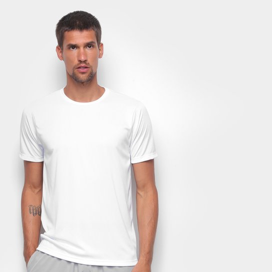 Camiseta Gonew Básica Workout Masculina - Branco