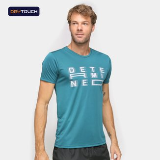 Camiseta Gonew Dry Touch Determined Masculina
