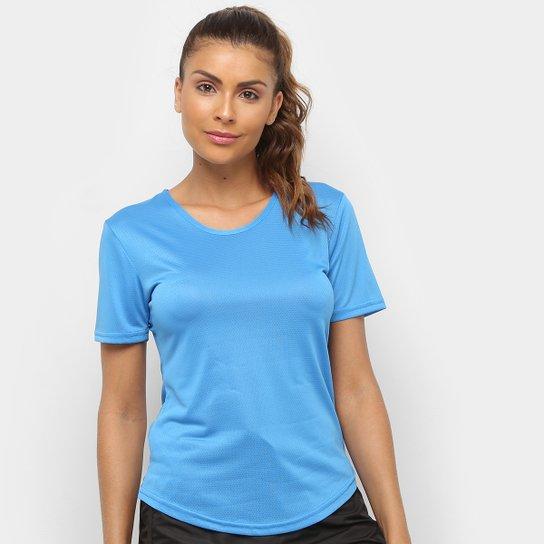 Camiseta Gonew Dry Touch Fast Feminina - Azul