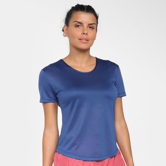 Camiseta Gonew Dry Touch Fast Feminina - Marinho