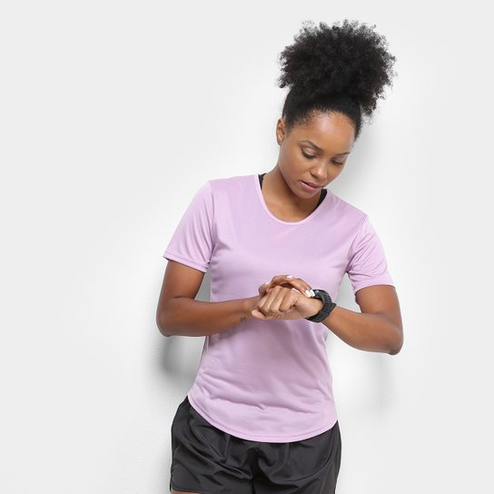 Camiseta Gonew Dry Touch Fast Feminina - Lilás