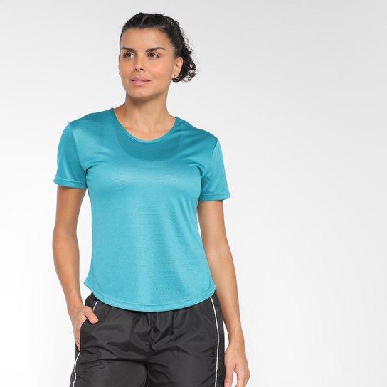 Camiseta Gonew Dry Touch Fast Feminina - Azul Turquesa