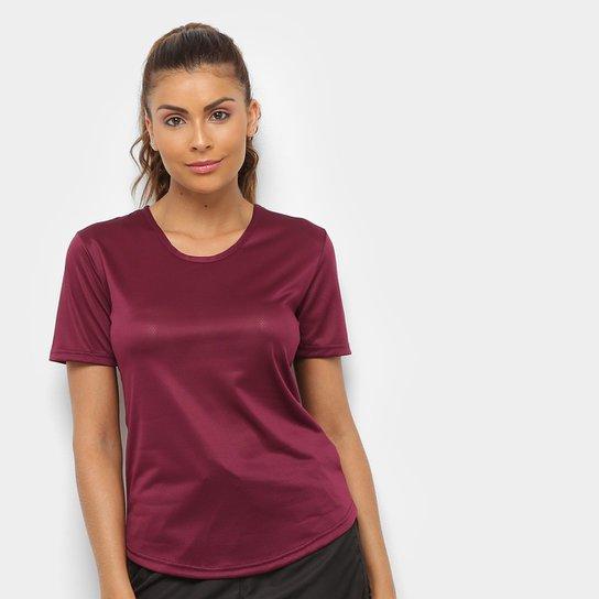 Camiseta Gonew Dry Touch Fast Feminina - Vinho