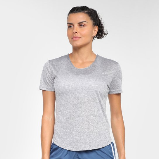 Camiseta Gonew Dry Touch Fast Feminina - Mescla