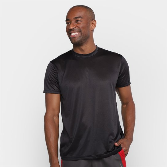 Camiseta Gonew Dry Touch Fast Masculina - Preto