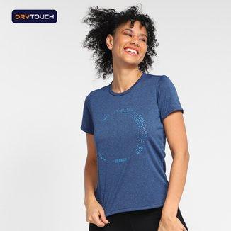 Camiseta Gonew Dry Touch Lines Feminina