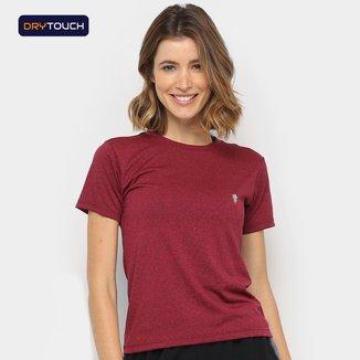 Camiseta Gonew Dry Touch Mescla Fast Feminina