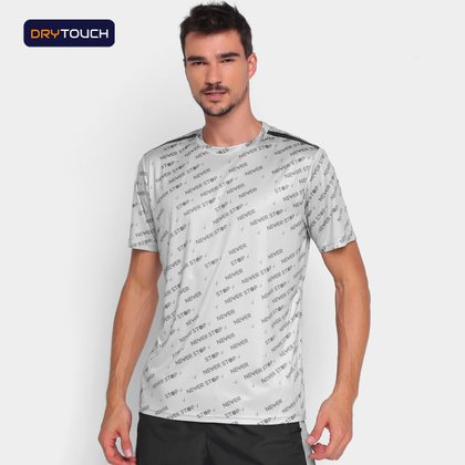 Camiseta Gonew Dry Touch Never Stop Masculina