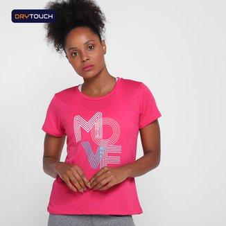 Camiseta Gonew Dry Touch Run Club Feminina